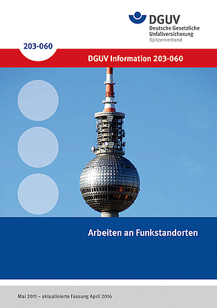 Cover DGUV Information 203-060